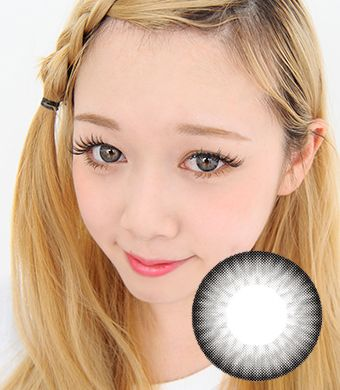 【Yearly / 2 Lenses】 OS4 Gray  /203
