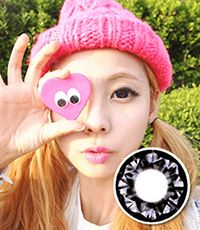 【Yearly / 2 Lenses】 PP17 Violet /091