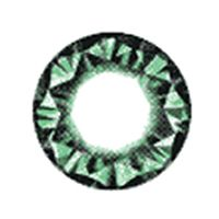 Vassen Kitty Kawaii Diamond 3 tone Green   15mm /027