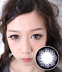 【Yearly / 2 Lenses】 BELLA  Violet  / 223