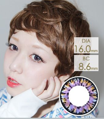 【 Yearly / 2 Lenses】 VASSEN IC4 Super Pinky  Blue  /628