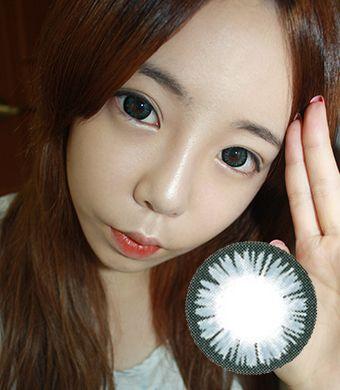 【 Yearly / 2 Lenses】 AURORA Gray   /144