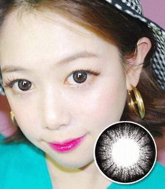 【 Yearly / 2 Lenses】 Pansy /14.5mm/ Gray /1007
