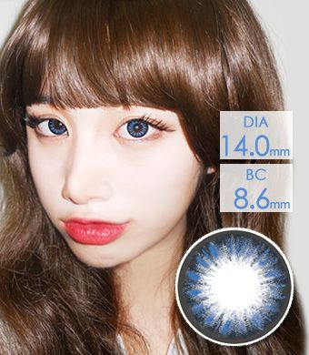 【 Yearly / 2 Lenses】 Dana Blue (AM77) /1212