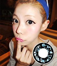 【Yearly / 2 Lenses】 PP17 Blue /093