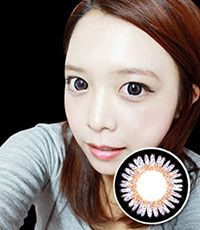 【Yearly / 2 Lenses】 POP TEEN Violet /116