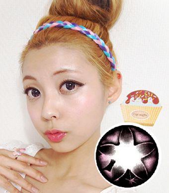 【Yearly / 2 Lenses】  Secret big star CF Pink /077