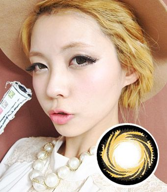 【Yearly / 2 Lenses】 PP18 Gold Brown  /211