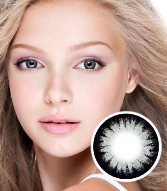 【2 Toric Lenses / 12month】 Pure  Gray / 257 <br>
