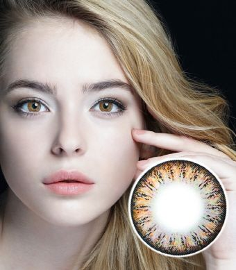 【2 Toric Lenses / 12month】 Spark  brown / 269 <br>