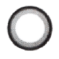 【Toric/12month】 Chagal  Black  /537 <br> DIA:14.0mm, G.DIA:13.8mm