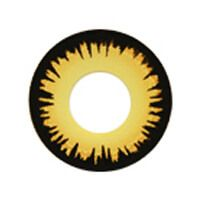 【Cosplay / 2 Lenses】 Funky Yellow Werewolf (- up to 10.00)  /911