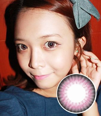 【Yearly / 2 Lenses】 OS4 / 14.5mm / PINK / 108