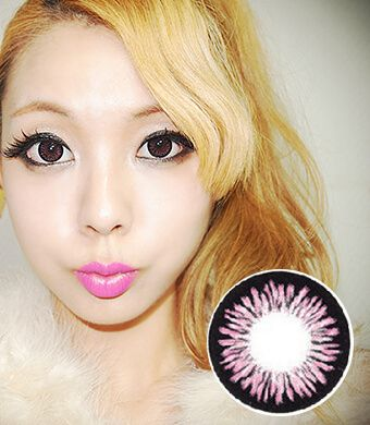 【Yearly / 2 Lenses】 Sharon  Pink (ADS)  /185