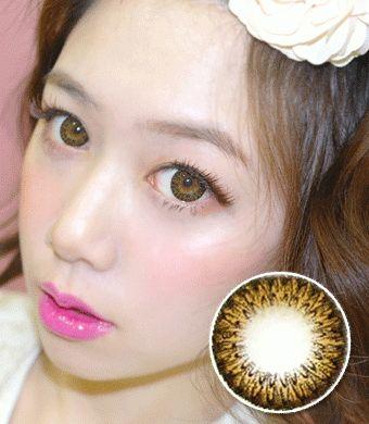 【 Yearly / 2 Lenses】 Pinkie Brown(JN1)  /1011