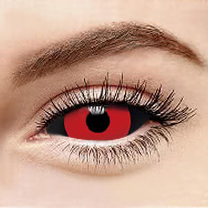 Black+Red Sclera 011 / 22mm / 1492