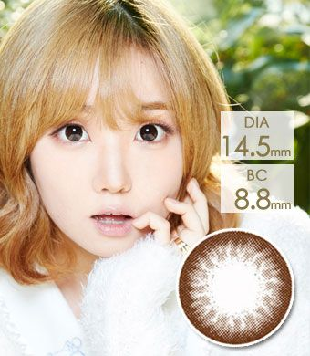 【Yearly / 2 Lenses】 OS2 Choco/172