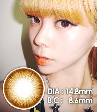ICK Jewelry  Brown   14.8mm /060