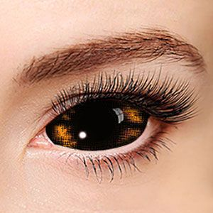 Yellow Werewolf Sclera 046 / 22mm / 1494