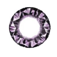 Kitty Kawaii Diamond 3 tone Violet   15mm /028