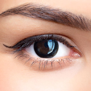 【 Yearly / 2 Lenses】 MAXLOOK SCL Red Black  / Silicon Hydrogel /1031