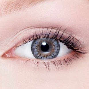 【Yearly / 2 Lenses】 Bess (A133) Gray /1254