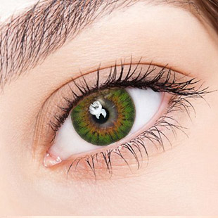 [Hyperopia/12month] Bess (A133) Green / 1308 </br> DIA:14.2mm(~ +4.00)