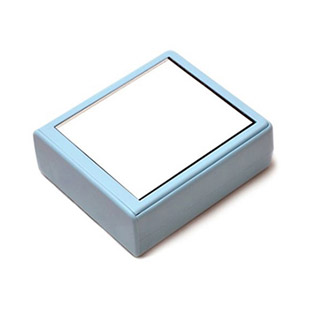 Mirror Blue Contact Lens Case / 1527