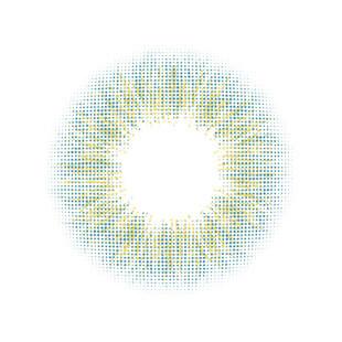 [1month] MIX ANN Hawaiian Skyblue / Silicone Hydrogel / 1539