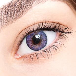 【 Yearly / 2 Lenses】 Chloe / 14.5mm / Violet   / 1004