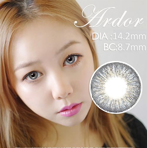 PREMIUM 【UV Blocking・Fresh look 】【3 Months / 2 Lenses】 INNO Ardor Dark gray / 1146</br>