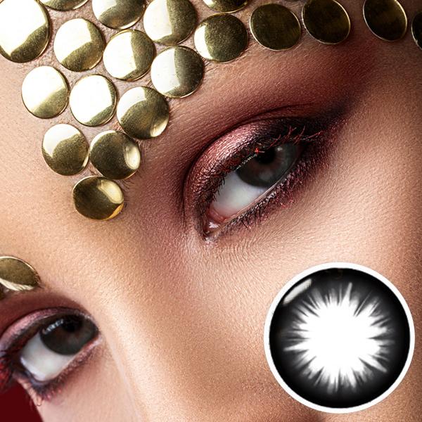 【Yearly / 2 Lenses】 Ultra Magic circle Black  /14.5mm/008