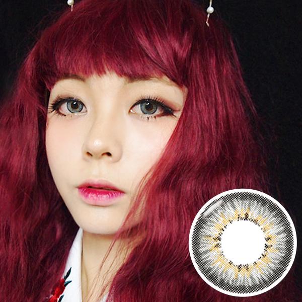 【Yearly / 2 Lenses】 Shinny CLARA Gray  /238