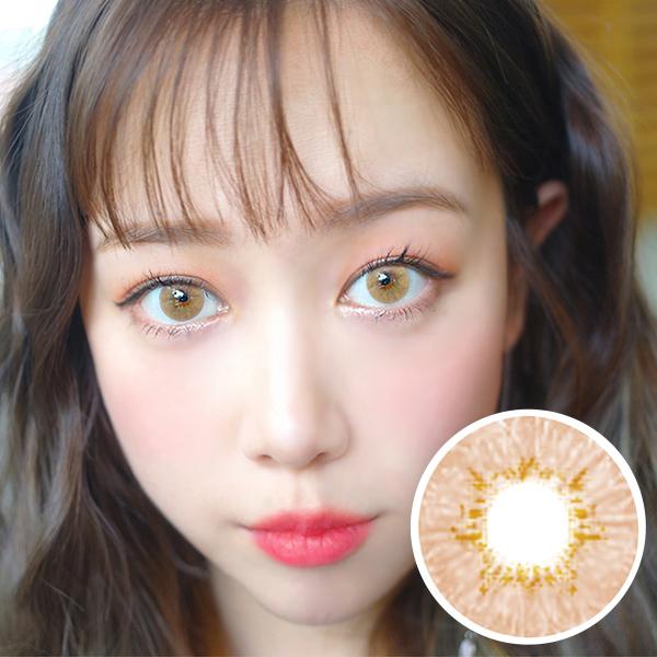 PREMIUM  【3 Months / 2 Lenses】  Innovision / Natural honey/ 1452