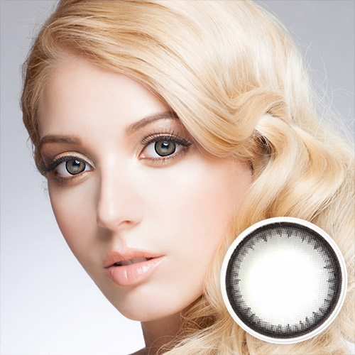 【2 Toric Lenses / 12month】  Pearl B Natural  Gray / 261 <br>
