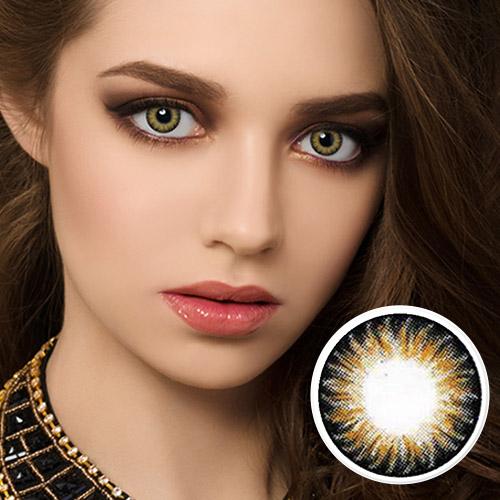 【2 Toric Lenses / 12month】  Scarlet brown / 923 <br>