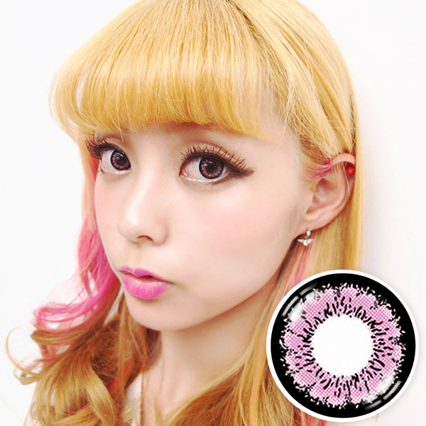 【Yearly / 2 Lenses】 EMILY Pink(OS1)  /170