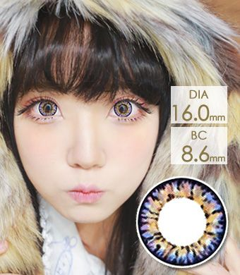 【 Yearly / 2 Lenses】 VASSEN IC4 Super Pinky  Violet  /627