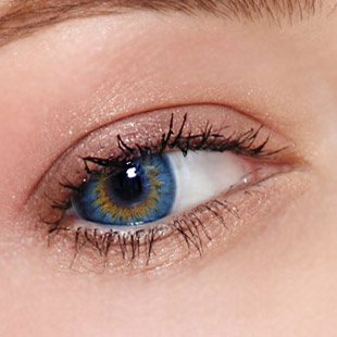 【Yearly / 2 Lenses】 Bess (A133) Blue /1256