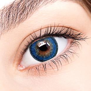 【 Yearly / 2 Lenses】 VASSEN Fairy Kirei  Blue  /633