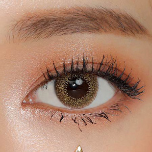 【Monthly / 2 Lenses】 Club gold pearl / Silicone Hydrogel / 1465