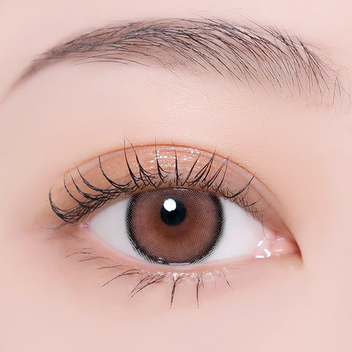 【I-Dol Lens/ 1month 】 ROZE AIRY Baby Brown /1608