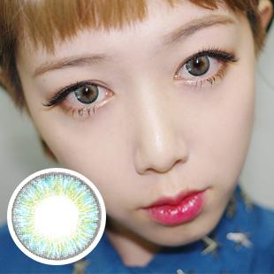 PREMIUM 【2 Toric Lenses /12month】 YEJI Blue /1630 </br>