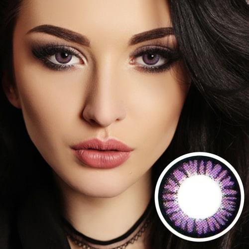 [Hyperopia/12month] Cara violet / 1322 </br> DIA:14.0mm(~ +8.00)